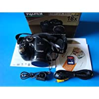 Fujifilm FinePix S2500HD 12MP Digital Camera with 18x Optical Dual Image Stabilized Zoom