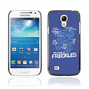 Designer Depo Hard Protection Case for Samsung Galaxy S4 Mini / Freckles