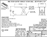 Vestil EHLT-WS-4048-1.5-36 Work Station Scissor
