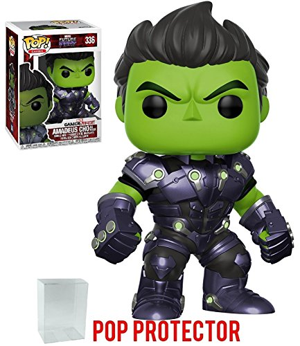Discount Funko Pop! Games: Marvel Future Fight - Amadeus Cho as Hulk Vinyl Figure (Bundled with Pop Box Protector Case) free shipping
