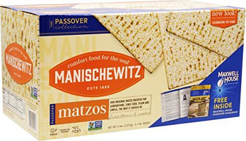 (Manischewitz Passover Matzo 5 lbs   (5 Boxes))
