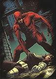 2010 Marvel Heroes and Villains #77 Daredevil vs. Bullseye - NM-MT