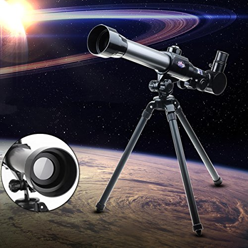 20X-40X Simulation Astronomical Telescope Preschool Scientific And Experiment - Camping Telescope & Binoculars - 1X LED Grow -