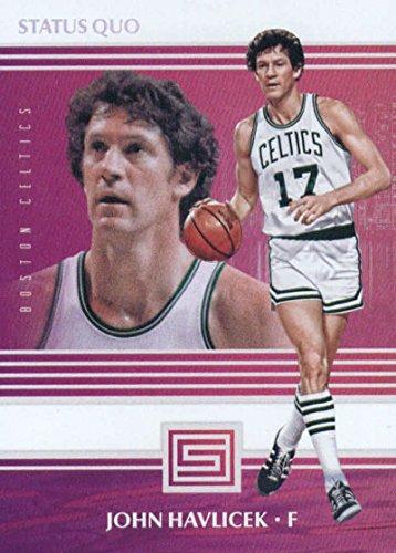 - 2017-18 Panini Status Quo #7 John Havlicek Boston Celtics Basketball Card