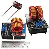 BAQI 5V-12V Low Voltage ZVS Induction Heating Power Supply Module Board with Coil WT