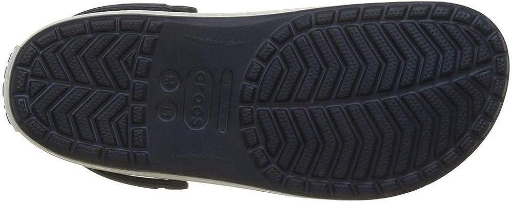 48//49 EU Ciabatte Unisex Crocs Crocband Clogs Navy Adulto Blu
