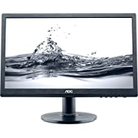 Aoc Professional E2060swda 19.5 Led Lcd Monitor . 16:9 . 5 Ms . Adjustable Display Angle . 1600 X 900 . 16.7 Million Colors . 220 Nit . 20,000,000:1 . Hd+ . Speakers . Dvi . Vga . 18 W . Black . Energy Star, Rohs, Epeat Gold Product Type: Computer Displays/Monitors