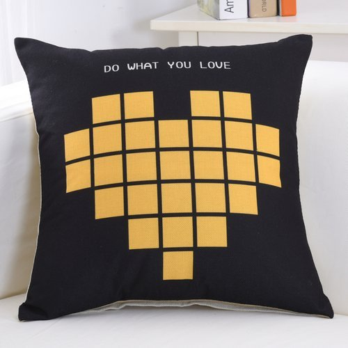 HOMEE the Nordic Linen Pillow Geometry Sofa Pillow Automotive Lumbar Pillow Office Lunch Sleeping Pillow Seat Back Large Cushions