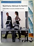 img - for Quantitative Methods For Business: Custom Edition for Southern Methodist University by David R. Anderson (2013-01-01) book / textbook / text book