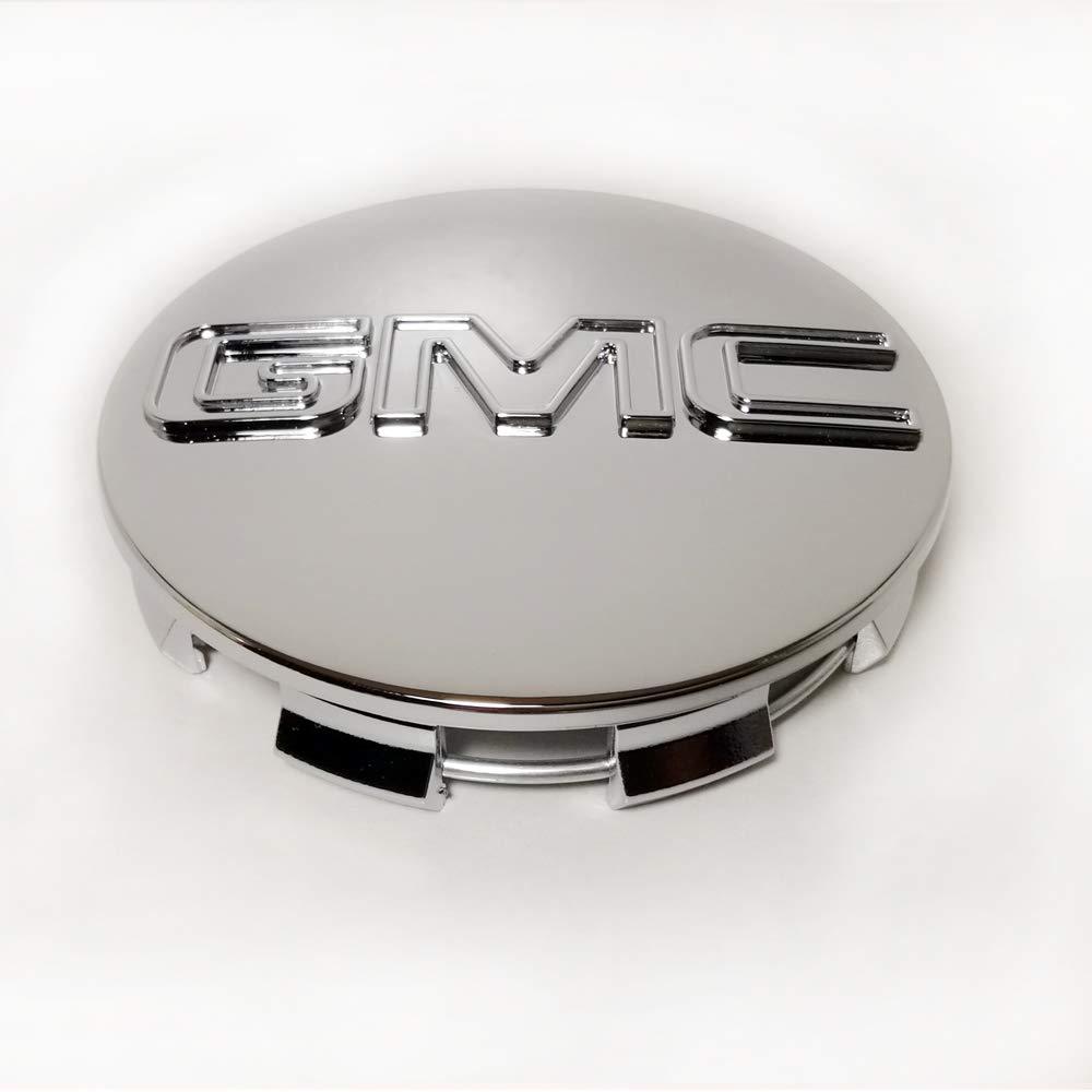 GMC 83mm// 3.25 Chrome Wheel Center Caps Emblem Logo Rim Center Hub Caps for GMC Sierra//GMC Yukon//GMC Denali//GMC Canyon Pack of 4