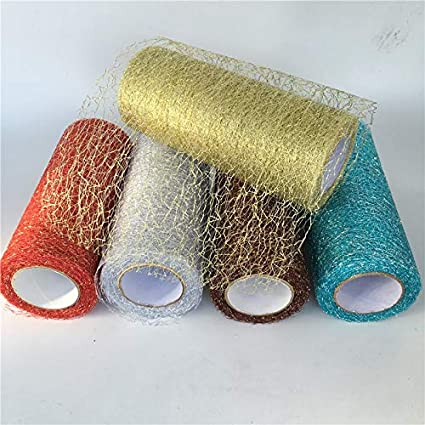 Amazon Com Onion Sticker 9 2m Roll Organza Tulle Roll Spool