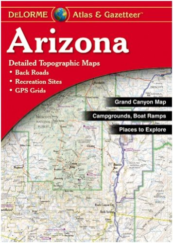 DeLorme Arizona State Laminated Atlas & Gazetteer
