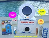 Solar Ionizer with Ionizaton LED ( EXCLUSIVE FEATURE) - Kills Algae and Bacteria - Includes Digital Water Tester - FAST SHIPPING!!