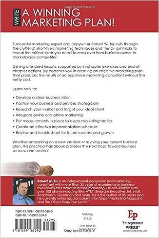 Amazon.com: The Marketing Plan Handbook: Develop Big-Picture ...
