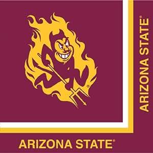 Creative Converting Arizona State Sun Devils Lunch Napkins, 20-Count