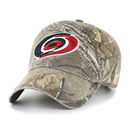- NHL Carolina Hurricanes Realtree OTS Challenger Adjustable Hat, Realtree Camo, One Size