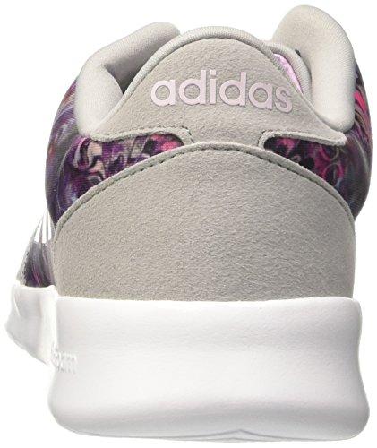 Adidas Damen Cloudfoam Qt Racer Sneakers, Bianco Blau (onicla / Orqcla / Ftwbla)