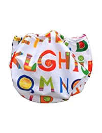 [Letter] Reuseable Baby Swim Diaper Lovely Infant Swim Nappy Swimwear