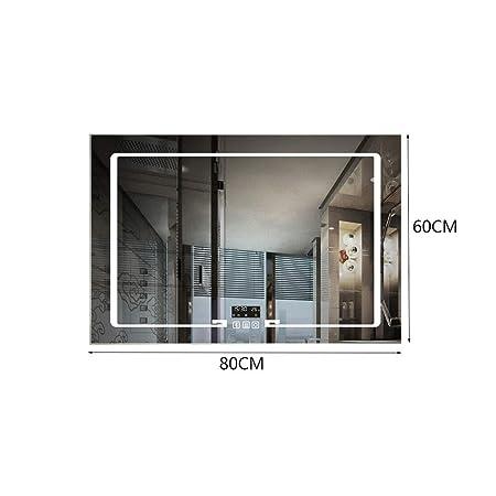 MU Hogar sin marco colgante de pared baño luz led espejo mesa de ...