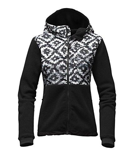 North Face Denali Hoodie Jacket - Women's TNF Black D-Kat...