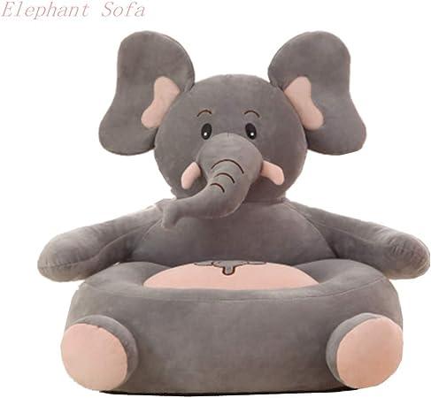 Kaliya Plush Kids Elephant Sofa Seat Children's Chair Armchair Animal Comfortable Sofa seat