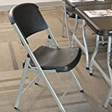 LIFETIME Commercial Grade Folding Chairs, 4