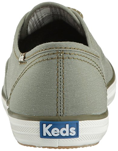 Keds Womens Champion Chambray Nylon WX Fashion Sneaker Olive VxO0j8