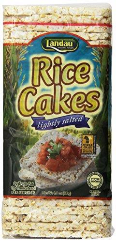 Landau Thin Rice Cake Salted 4.6 Oz. (Pack of 12)