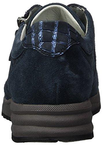 Velour Deepblue Kimari à Chaussures Waldläufer Cocco Notte Blau Femme Lacets Cocco dYqz1n1wpZ