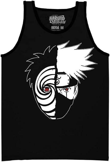 Ripple Junction Naruto Shippuden Kakashi Tobi - Camiseta sin Mangas para Adulto
