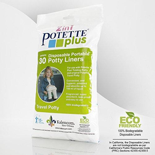 Kalencom Potette Plus Liners, 30 count