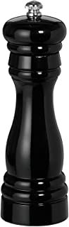 product image for Fletchers' Mill Federal Pepper Mill, Black - 6 Inch, Adjustable Coarseness Fine to Coarse, MADE IN U.S.A.
