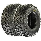SunF A043 XC Sport-Performance ATV/UTV Off-Road RADIAL Tires - 27x11R12 , 6PR (Pair of 2)