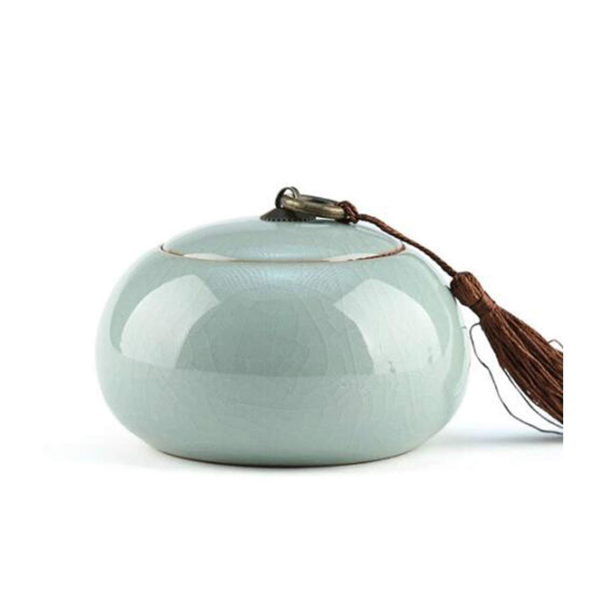 B 10.57.5cm B 10.57.5cm Hengtongtongxun Pet Urn,Cremation Urns for Pets,Functional Urn,Ceramic Sealed,Moisture Proof,Keepsake Box for Dogs and Cats,10.5  7.5cm Soul Place (color   B, Size   10.5  7.5cm)