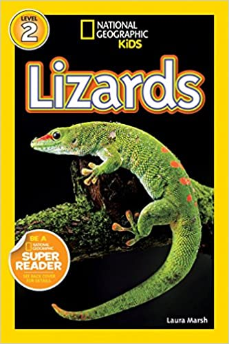 Amazon com: National Geographic Readers: Lizards (9781426309229