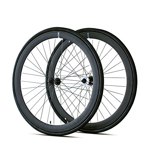 6KU 700C Deep V Alloy Fixed Gear Wheelset