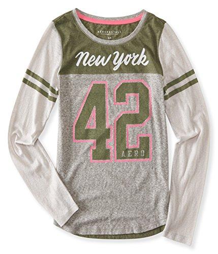 Aeropostale Womens New York 42 Graphic T-Shirt 052 XL