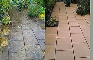 Limpiador para patios, piedra arenisca, removedor de puntos negros ...