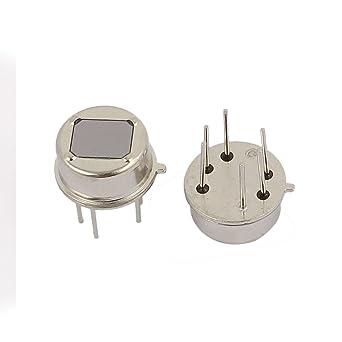 SOURCING MAP sourcingmap® 2 pcs piroeléctricos Sensor de Infrarrojos PIR Detector de movimiento humano para
