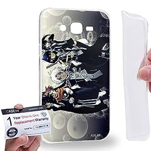 Case88 [Samsung Galaxy J7] Gel TPU Carcasa/Funda & Tarjeta de garantía - D.Gray-man Exorcist Allen Walker Lavi Lenalee Lee Yu Kanda 2046