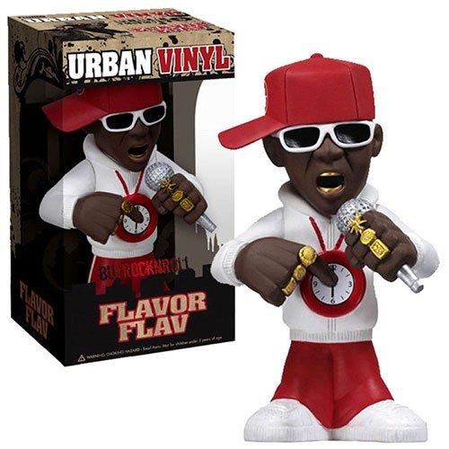 Funko Rocks 6 Inch Urban Vinyl Figure Flavor Flav Public Enemy (Flavor Flav Clock Necklace)