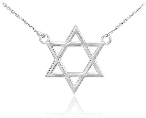 Details about  /Silver 925 Vintage Round Pendant Of Star Of David Jewish Magen David Israel Gift