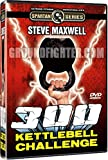 300 Kettlebell Challenge Instructional DVD Set Starring Steve Maxwell, 18 Powerful Exercises + Full 300 Kettlebell Challenge
