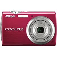 Nikon Coolpix S230 10MP Digital Camera with 3x Optical Zoom and 3 inch Touch Panel LCD (Gloss Red) Basic Facts Review Image