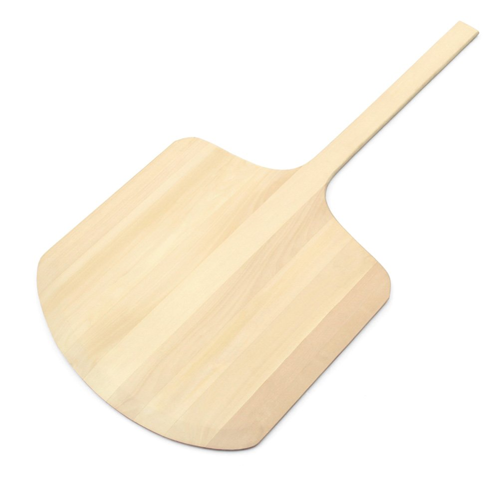 "New Star Foodservice 50363 en Pizza Peel, 18"" x 19"" x 36"", Wood"
