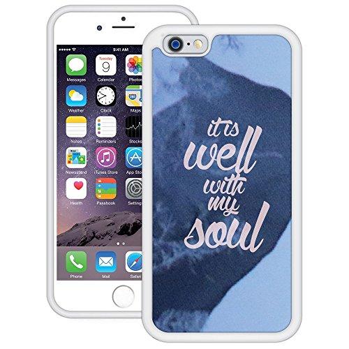 Es Ist Gut   Handgefertigt   iPhone 6 6s (4,7')   Weiß TPU Hülle