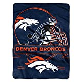 Broncos OFFICIAL National Football League, Prestige 60x 80 Raschel Throw