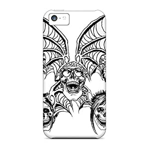 ZachDiebel Iphone 5c Anti-Scratch Hard Cell-phone Case Allow Personal Design Attractive Avenged Sevenfold Image [jhW7568sLEU]