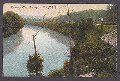 Kentucky River Scenery on Louisville & Nashville Railroad postcard 1910s