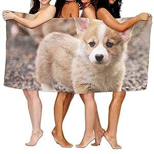 Toalla de baño para perro, cómoda, para playa, baño, ducha, 81 x 132 cm, mini multiusos, ideal para uso doméstico y de viaje